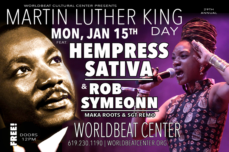 29th Martin Luther King Day Celebration Worldbeat Center